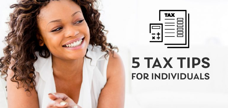 personal tax tips